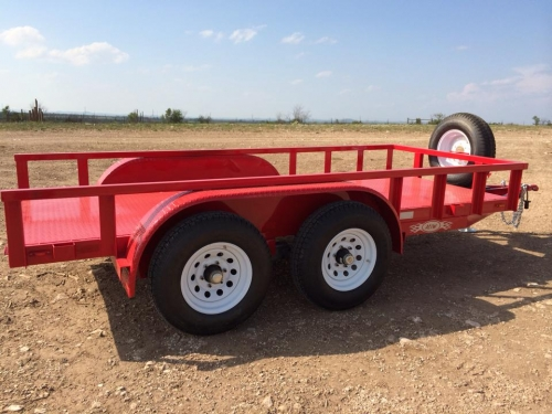 RED TRAILER SIDE